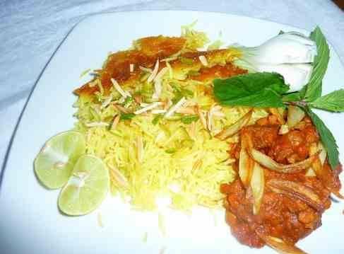 شکر پلو از غذاهای شیرازی