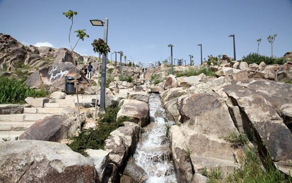 پارک کوهسنگی از مراکز تفریحی مشهد