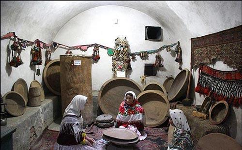 موزه مردم شناسی از مکان های دیدنی اردبیل