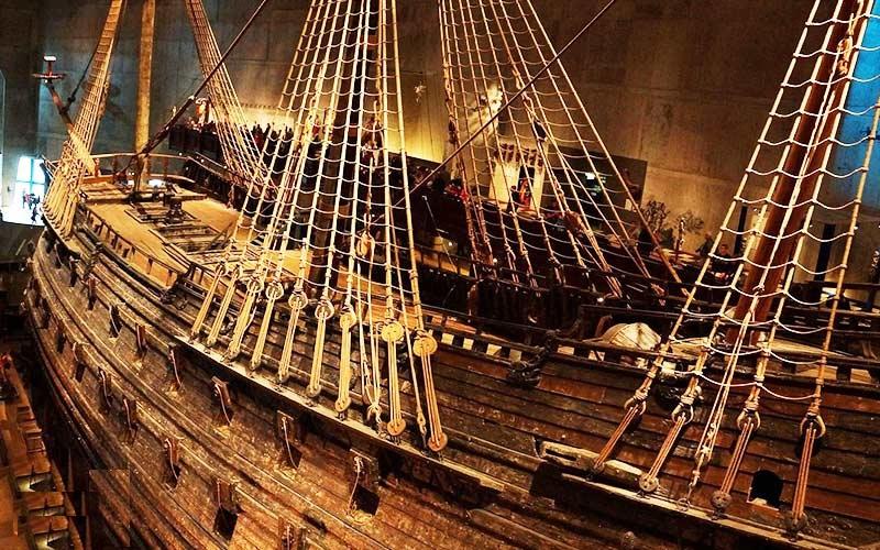 موزه واسا از مکان های دیدنی استکهلم