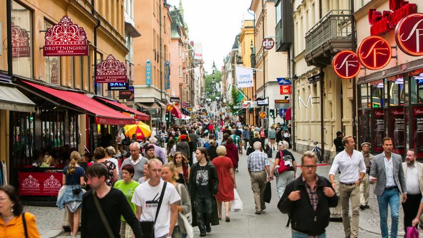 خیابان Drottninggatan