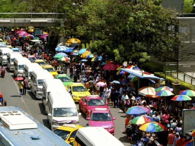 بازارهای بانکوک
