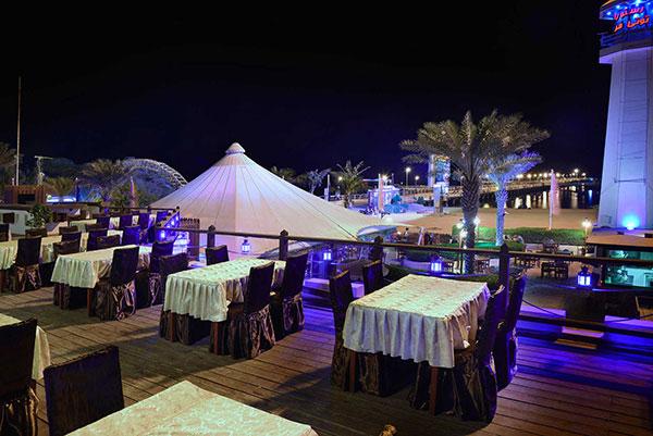 توتی فروتی از جمله رستوران های جزیره کیش
