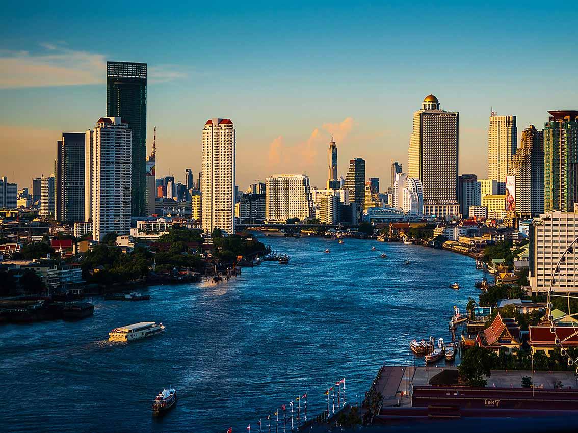 درباره رودخانه چائو فرایا ( Chao Phraya) بانکوک