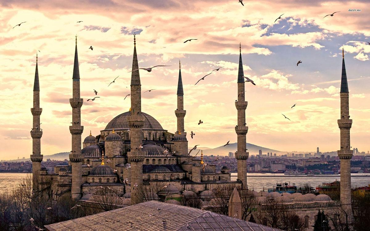 مسجد سلطان احمد در استانبول از زیباترین مساجد دنیا
