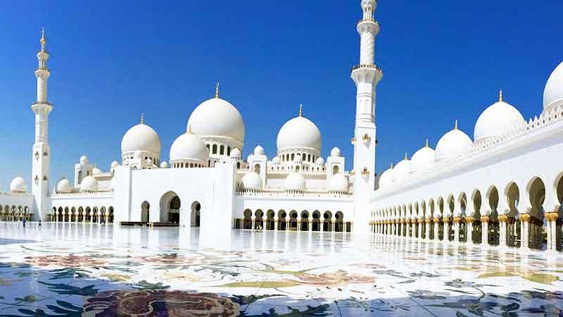 مسجد شیخ زاید در امارات