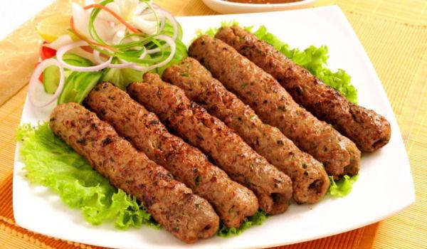 کباب کاکوری از غذاهای معروف هند
