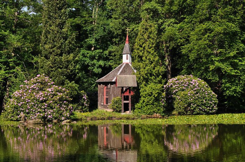 باغ انگلیسی مونیخ در آلمان