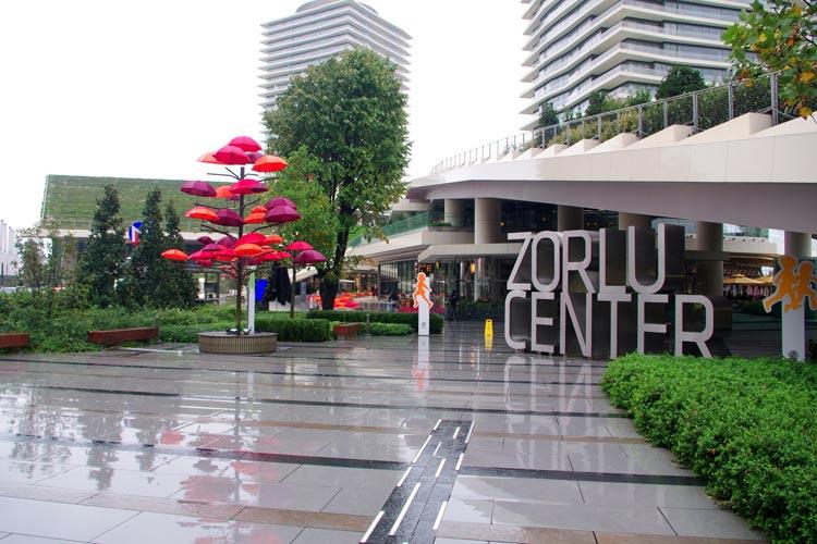 مرکز زورلو از بهترین مراکز خرید استانبول