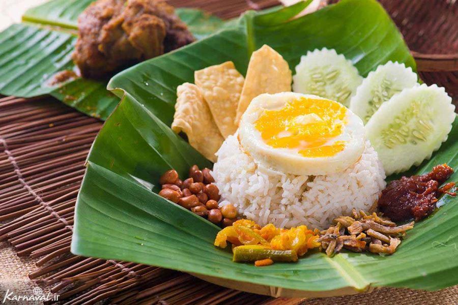 نگاهی به فرهنگ غذاهای مالزی