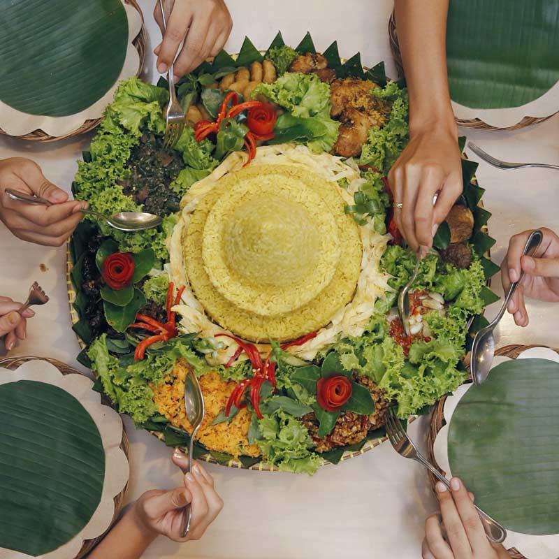 معروف ترین غذا های اندونزی