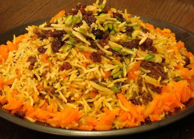 معروف ترین غذا های افغانستان