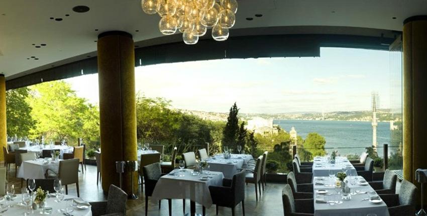 5 رستوران زیبا در ترکیه