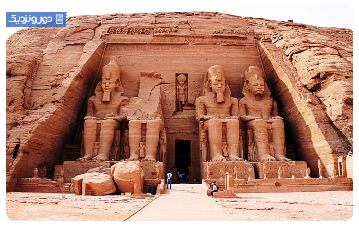 شگفت انگیزترین معابد مصر باستان