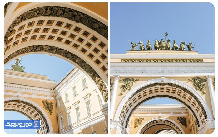 پیاده روی در سنت پترزبورگ