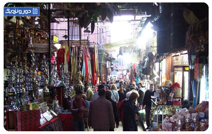 راهنمای خرید از بازار خان الخلیلی قاهره