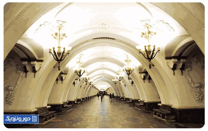 پایتخت روسیه مسکو سنت پترزبورگ