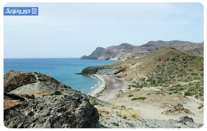 ساحل مونسول، آلمریا سواحل اسپانیا