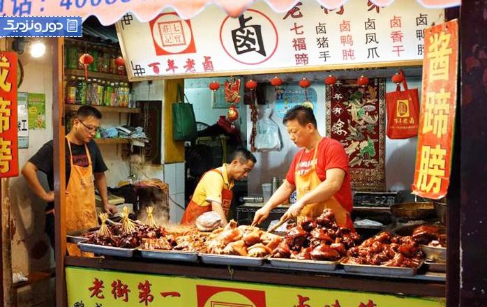 غذاهای خیابانی شانگهای