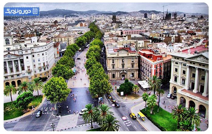 در خیابان لارامبلا بارسلونا چه کارهایی می توان انجام داد؟