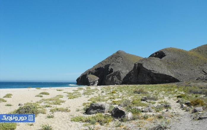 زیباترین سواحل اندلس ساحل موئرتوس (آلمریا)