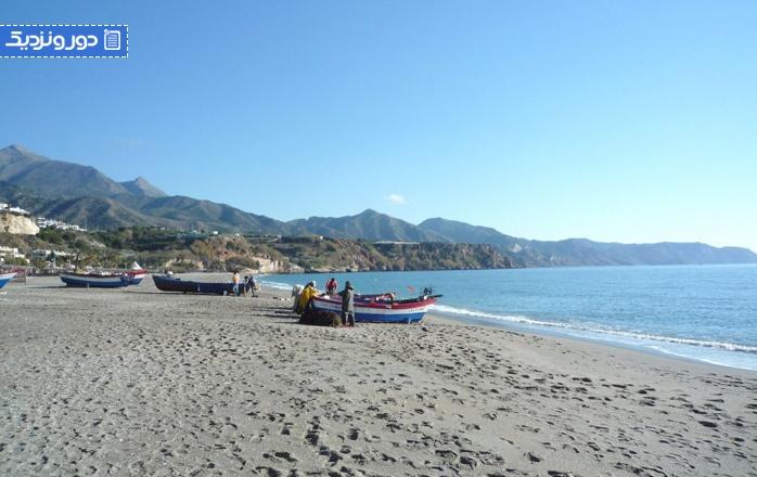 زیباترین سواحل اندلس ساحل مارو (مالاگا)