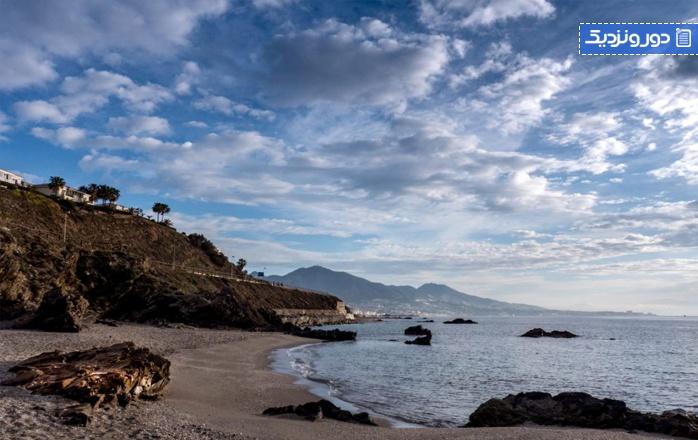 زیباترین سواحل اندلس ساحل میهاس