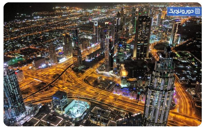 مکانهای دیدنی امارات متحده