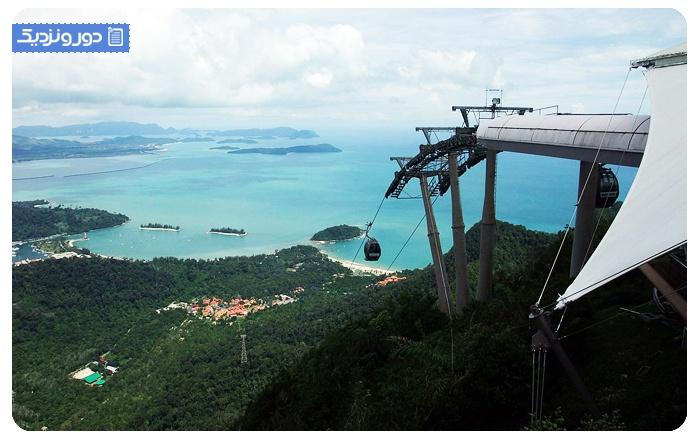 لنکاوی-مالزی جاذبه گردشگری تله کابین لنکاوی