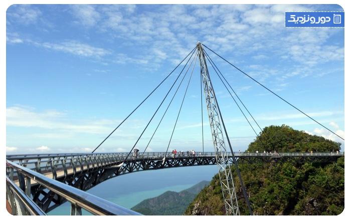 لنکاوی-مالزی جاذبه گردشگری پل آسمان لنکاوی