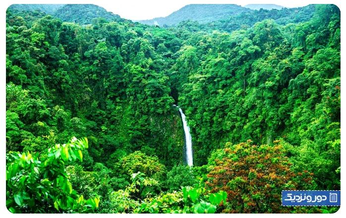 اولین سفر خارج از کشور کاستاریکا