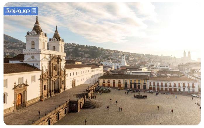 اولین سفر خارج از کشور اکوادور