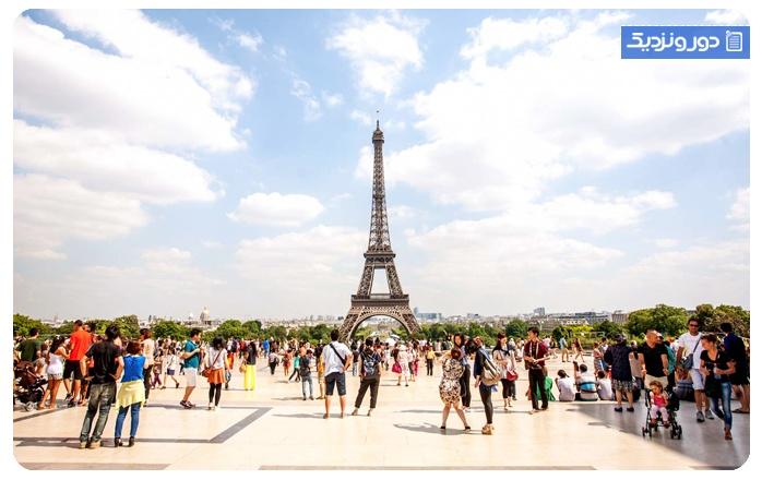 اولین سفر خارج از کشور فرانسه