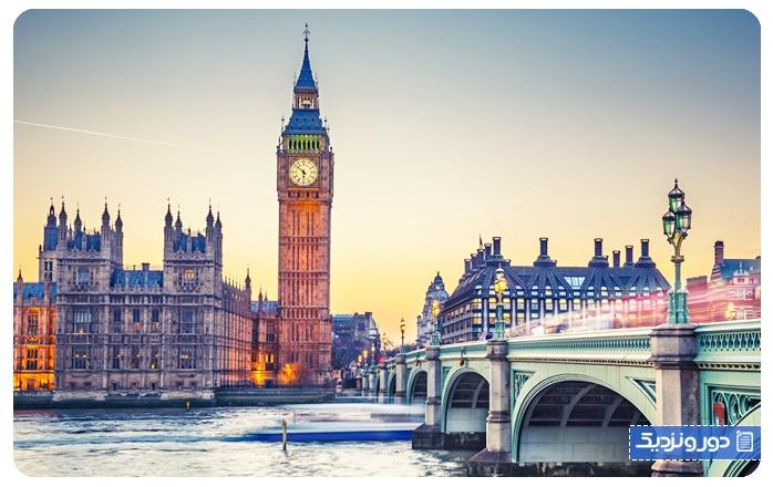 اولین سفر خارج از کشور بریتانیا