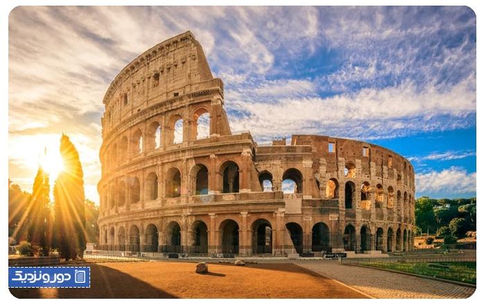 اولین سفر خارج از کشور ایتالیا