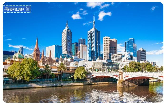 اولین سفر خارج از کشور استرالیا