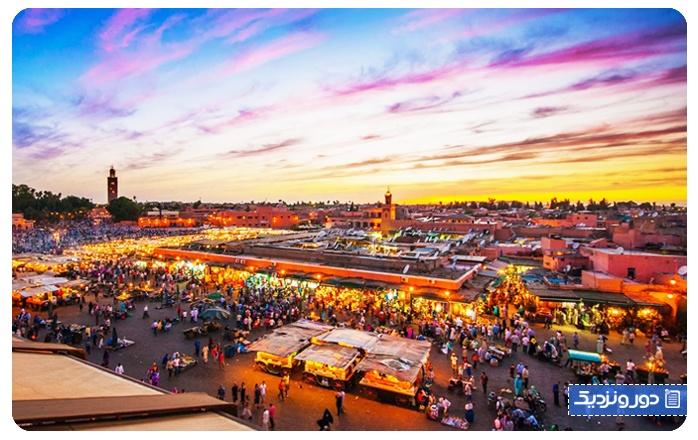 اولین سفر خارج از کشور مراکش