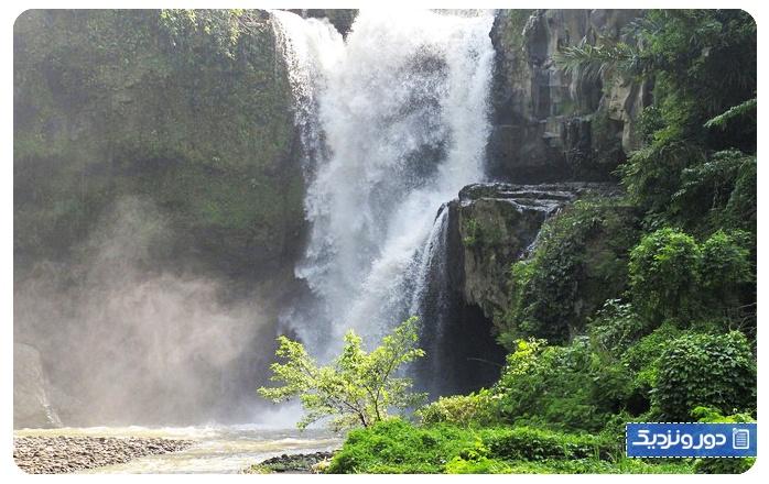 آبشار تگنونگان جاذبه دیدنی اوبود بالی