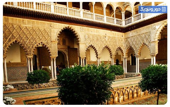 جاذبههای گردشگری سویل قصر رویال آلکازار