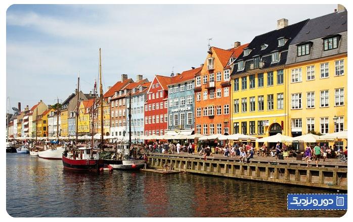 جاذبه های دانمارک نیهاون کپنهاگ