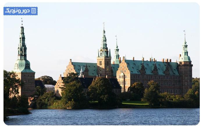 جاذبه های دانمارک قلعه فردریکزبورگ