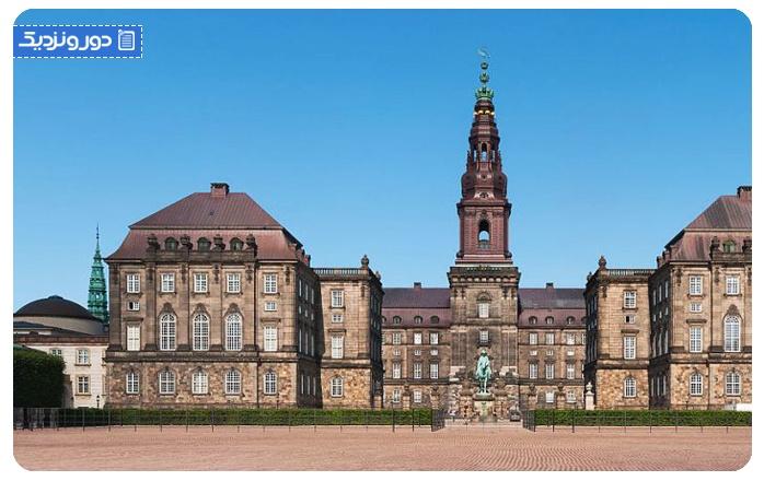 جاذبه های دانمارک کاخ کرسیشنزبورگ