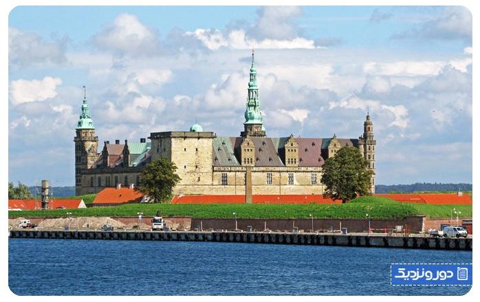 جاذبه های دانمارک قلعه کرونبورگ