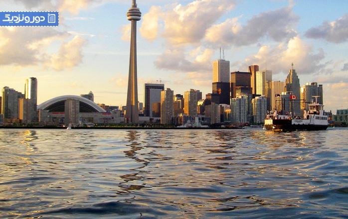 جاذبه های گردشگری تورنتو برج سی ان