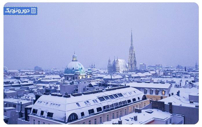بازارهای کریسمس وین اتریش کرلینگ