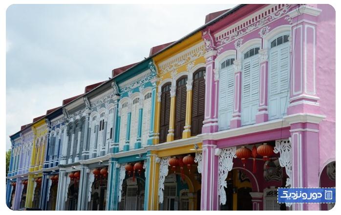 گردشگری مالزی جرج تاون در پنانگ