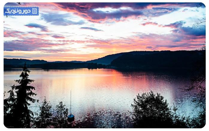 زیباترین دریاچه چیمسی مونیخ آلمان - آلپ