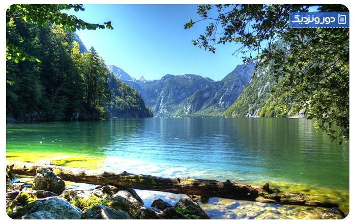 زیباترین دریاچهریمرسی مونیخ آلمان - آلپ