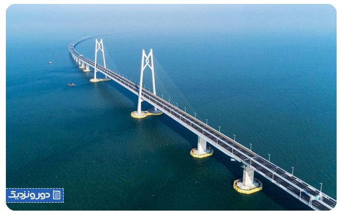 پل مرگ چین طولانی ترین پل دریایی جهان