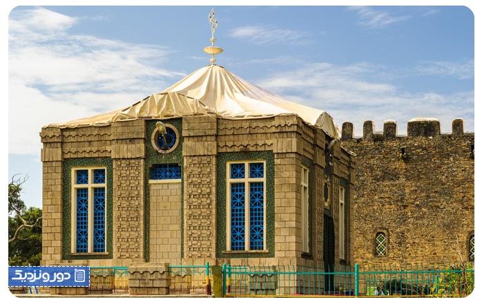 اماکن ممنوعه کلیسای تبلت در اتیوپی